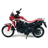 DZYWL Modelos De Escala De Simulación For Honda Africa TwinDCT 1:18 Simulación Fundición A Presión Modelo Motocicleta Decoración del Hogar Colección Regalos Vacaciones Año Nuevo Cumpleaños
