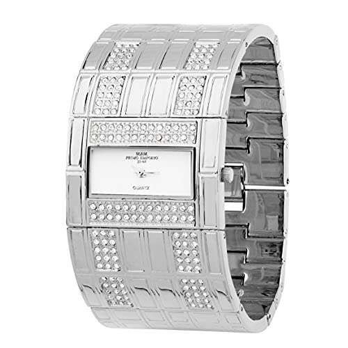 M&M PRIMO EMPORIO Reloj rígido para mujer 745AW
