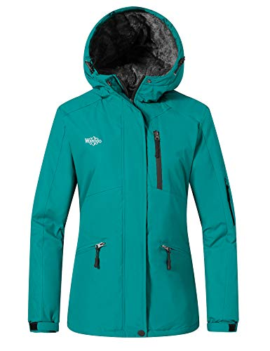 Wantdo Giacca da Snowboard Running Giubbotto da Montagna Caldo Jacket for Work with Hooded Warm...