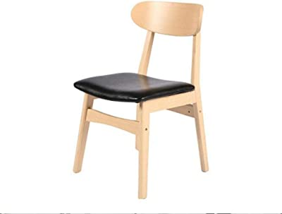 Wooden Stool Dining Chairs Solid Wood Chairs Simple Dining Table Chairs Solid Wood Wooden Chairs (Color : #1)