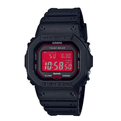 [カシオ] 腕時計 ジーショック Black and Red Series GW-B5600AR-1JF メンズ