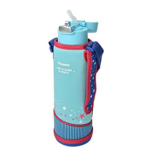 ピーコック魔法瓶工業 水筒 ステンレスボトル ストロータイプ 0.9L スカイブルー APA-F90 ASK