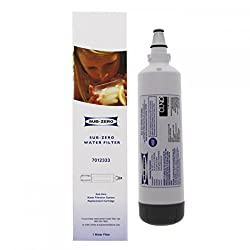 Authentic Sub-Zero Factory Certified Water Filter 7012333 For use with the following models: UC-15 and UC-15IO Reduces sediment and chlorine taste, while inhibiting the growth of scale Provides up to six full months of performance, based on water qua...
