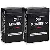 OUR MOMENTS Couples (Bundle of 2): 100 Thought Provoking Conversation Starters for Great Relationships - Fun Conversation Cards Game for Couples