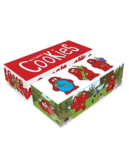 【クッキータイム 公式】クッキー詰め合わせ ギフトボックス ミニクッキー(20g X 20枚・オリジナル チョコレートチャンク、トリプル チョコレートチャンク、ホキポキ ホワイトチョコレートチャンク、ジンジャーナッツ) 大容量、大人気、おいしい クッキー、かわいい、しっとり、おしゃれ、バタークッキー、チョコレート、お土産にぴったり、キャラクター お菓子、海外のお菓子、割れクッキー、食べ応え、送料無料