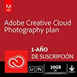 Creative Cloud Photography plan with 20GB | 1 Año | PC/Mac | Código de activación enviado por email