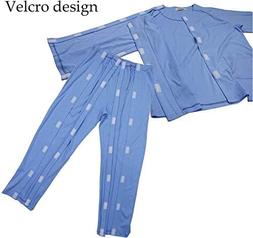 XHDMJ Patientenversorgung Kleidung Hosen Chemotherapie Pyjamas Kleidung Offene Hosen Für Die Postoperative Versorgung Arthritis Bettlägerige Patienten Ältere Menschen,A1,M