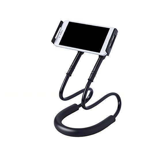 DBSUFV Soporte para teléfono con Cuello Colgante Perezoso Soporte para teléfono móvil con Cabestro Soporte para teléfono móvil Soporte Universal para iPhone