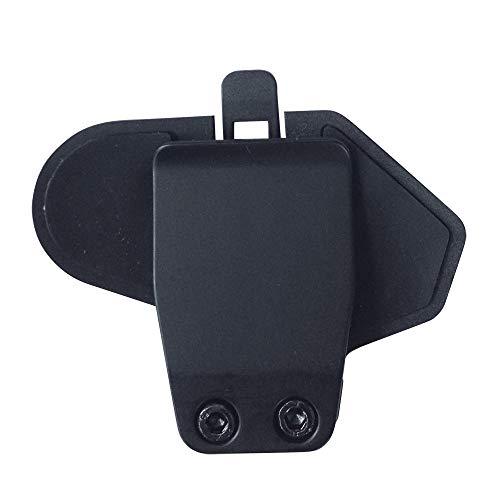 Accesorios de la abrazadera del montaje del clip del para el intercomunicador del interphone del casco de Bluetooth de la motocicleta de T-MAX 1000M