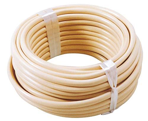 Câble téléphonique ivoire Dhome - 2 paires - Longueur 10 m