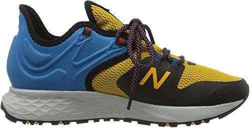 New Balance Fresh Foam Roav Trail, Zapatillas de Running para Asfalto para Hombre, Amarillo (Varsity RG), 45 EU