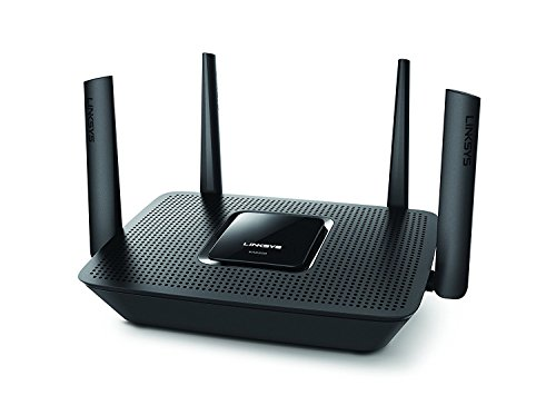 Linksys - Max-Stream AC2200 Tri-Band Wi-Fi Router (EA8300) Black - New (Renewed)