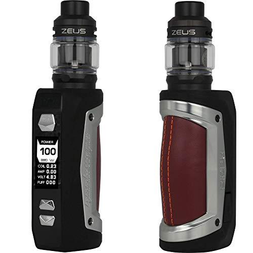 GeekVape Aegis Max Kit 100 W, mit Zeus Sub Ohm Tank 5 ml, Riccardo E-Zigarette, grey pearl