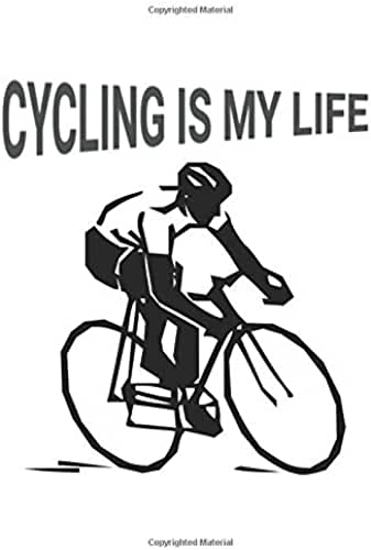 Cycling Is My Life: Blank Lined Journal Notebook Diary Gift For Girls Boys Students And Teachers
