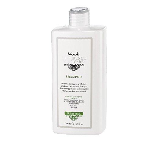 NOOK PURIFYING Reinigungsshampoo gegen Schuppen, Nickel, Chrom, COBALT, 500 ml