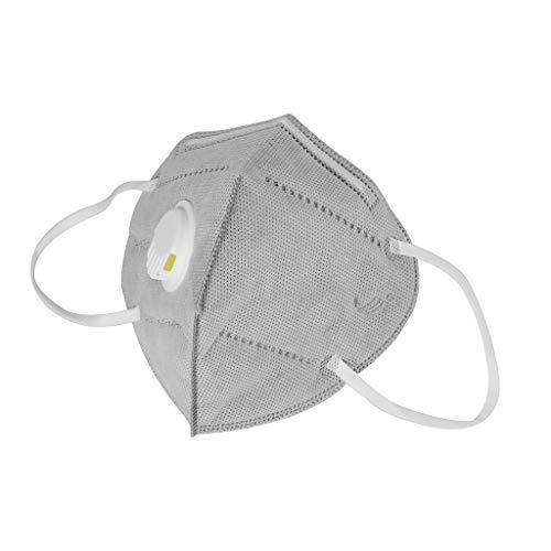 YIHANK 3 Stück Outdoor Staubdichte Maske Staubmaske Winddicht Unisex Wiederverwendbar Feinstaubmaske Mundschutz