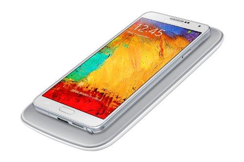 Samsung EP-WN900EWEGWW - Pack de carga por inducción para Galaxy Note 3 (Cargador y tapa trasera), blanco