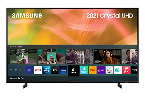 Samsung 2021 43 inch AU8000 Crystal UHD 4K HDR Smart TV with Alexa built-in