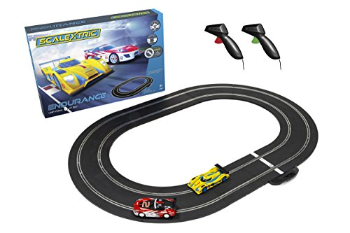Scalextric C1384T 1:32 Gulf Racing LMP vs GT Slot Cars Set