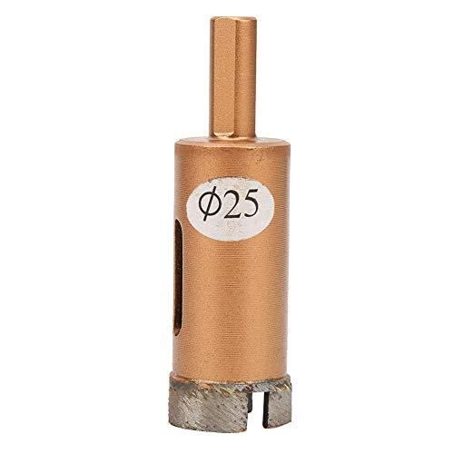 Sierra de perforación Posición de 45 grados Herramienta de sierra de perforación Material de diamante Taladro con núcleo de vidrio Baldosas de granito de mármol Baldosas(25mm)