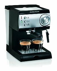 espresso machine hamilton beach amazon
