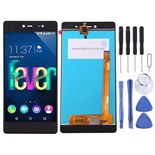 JIANGHONGYAN Accessori per telefoni Schermo LCD e digitalizzatore assemblaggio Completo per Wiko Fever 4G