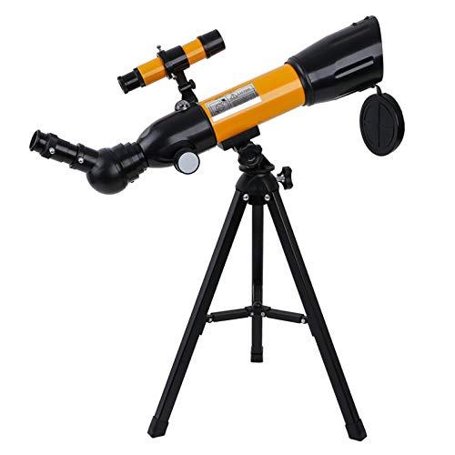 Zarupeng Teleskop für Kinder 18X 16X HD Fernrohr 90-fache Vergrößerung 50mm Öffnung 360mm Brennweite Profi Astronomisches Teleskope mit Verstellbarem Stativ für Erwachsene und Einsteiger Astronomen