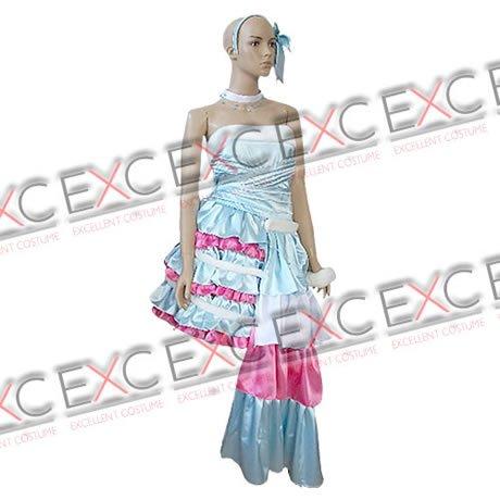 『【コスプレ】きらりんレボリューション風 月島きらり 青色 タイプ 衣装 女性用L』の2枚目の画像