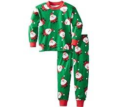 Saras Prints Unisex Kids Two-Piece Pajama Set