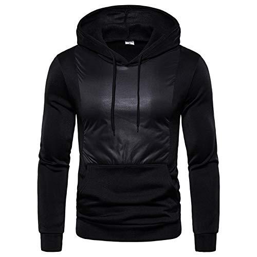 SSBZYES Camisas Deportivas para Hombre Tops Casuales para Hombre Chaquetas De Suéter Casuales para Hombre Jersey De Código Europeo Suéter con Capucha Suéter De Contraste De Moda
