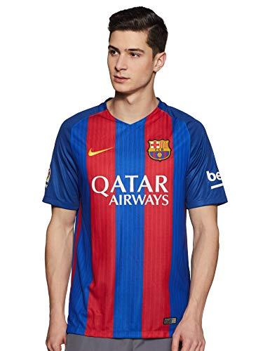 Nike Herren FC Barcelona Stadium 2016/2017 Heimtrikot, blau/Rot, XXL-56/58