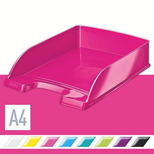 Leitz 52263023 Briefkorb WOW A4 pink metallic