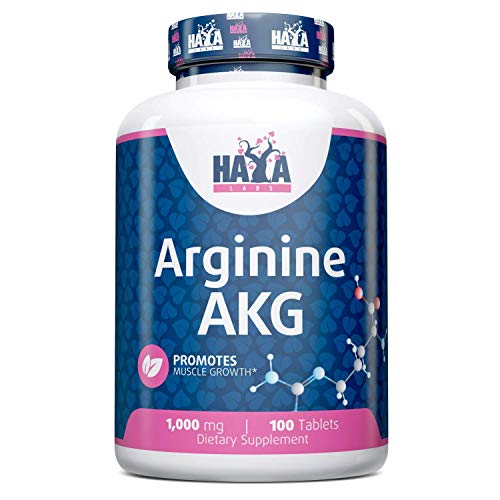 Haya Labs Arginine AKG 1000mg 100 Tablets