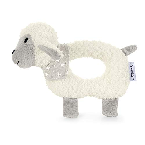 Sterntaler Hochet Stanley le Mouton, Âge : 0-36 Mois, Couleur : Blanc/Gris