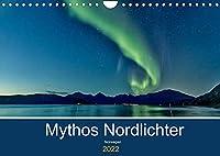 Norwegen - Mythos Nordlichter (Wandkalender 2022 DIN A4 quer): Nordlichter, mythische Bilder von diesem grossartigen Naturphaenomen (Monatskalender, 14 Seiten )