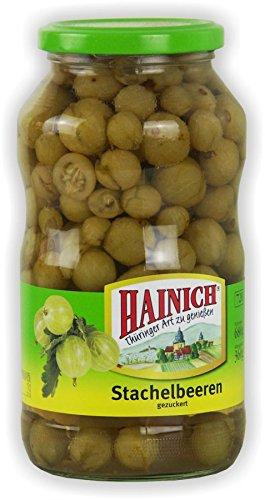 Hainich Stachelbeeren 720ml Glas Hainich Konserven Thüringer Obst