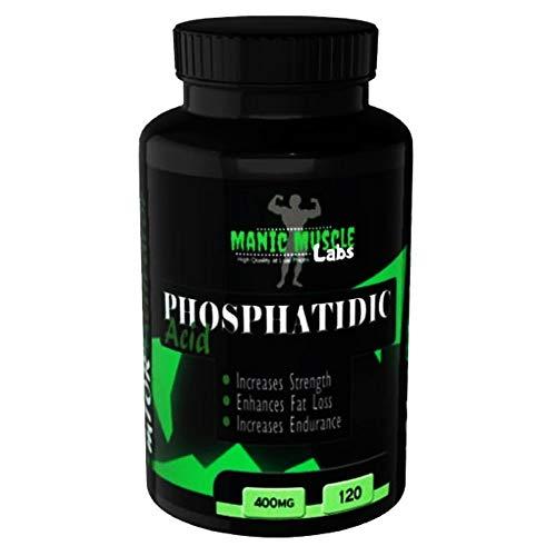 Manic Muscle Labs Phosphatidic Acid 400mg 120 Capsules