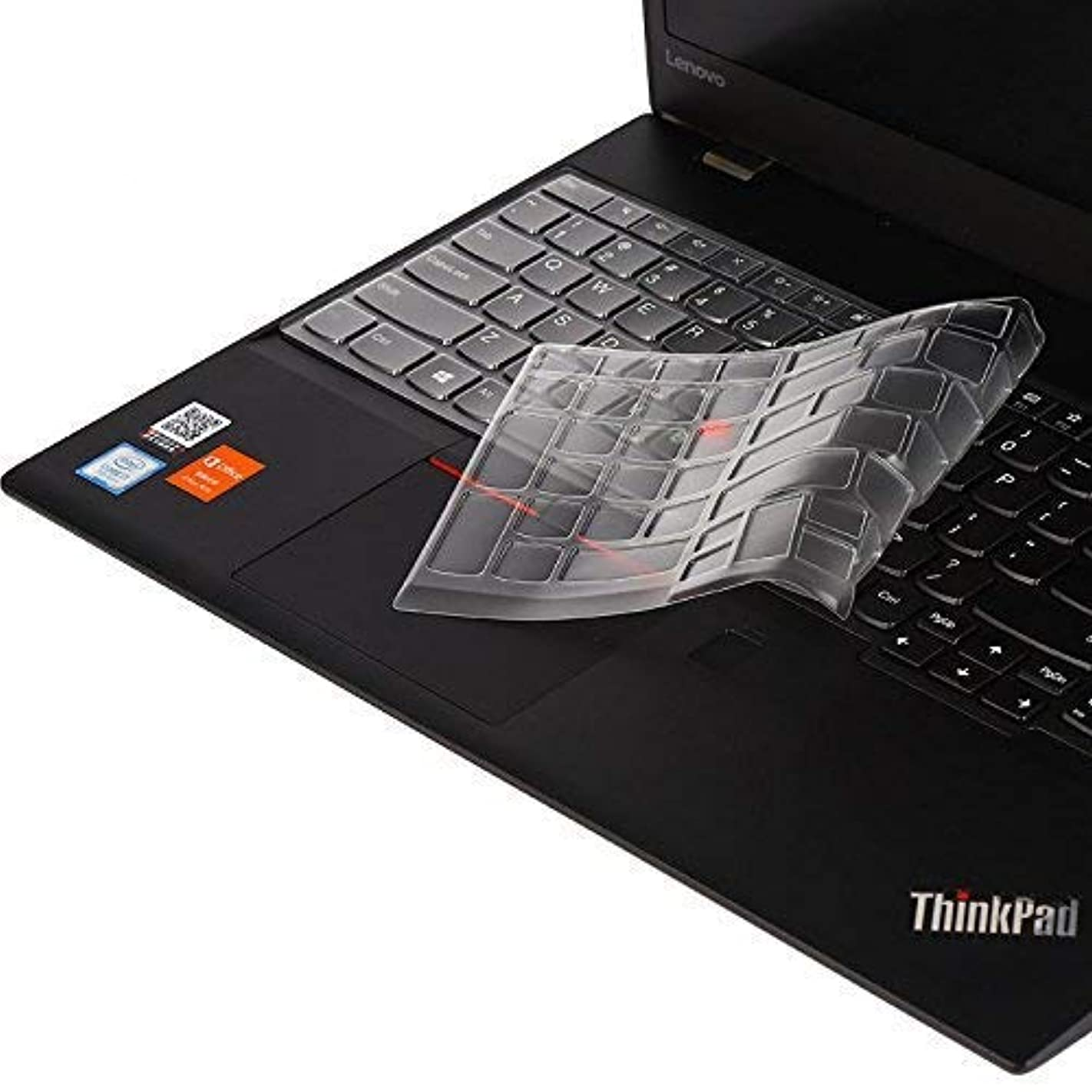 Ultra Thin Soft-Touch Keyboard Cover Compatible ThinkPad P51S P52 P52S T570 T580 T590 E580 E585 E590 Laptop - Clear r25141787502