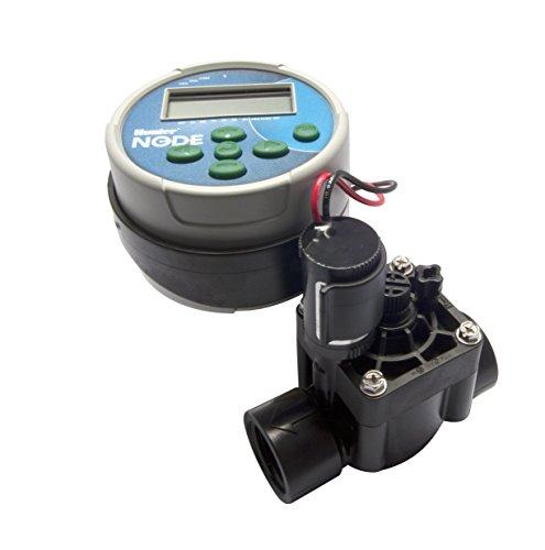 HUNTER - MOD. Node 55147–Programmatore di irrigazione a batterie a 1Stazione, con elettrovalvola