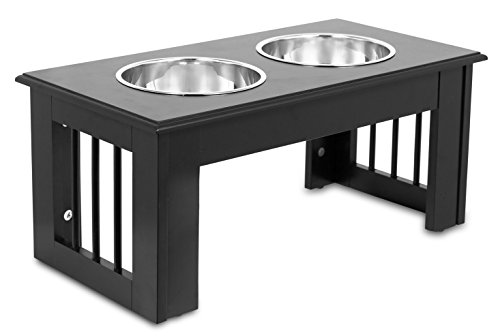 Internet's Best Traditional Elevated Pet Feeder