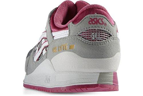 Asics ASICS Unisex-Kinder Gel Lyte III PS C5A5N-1301 Sneaker, Mehrfarbig (Grey 001), 27 EU
