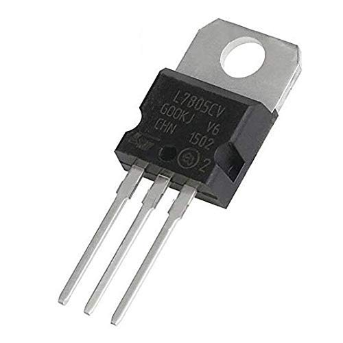 (20 Pieces) IC 7805 Voltage Regulator, L7805 Linear Positive Fixed 1 Output 5V 1.5A