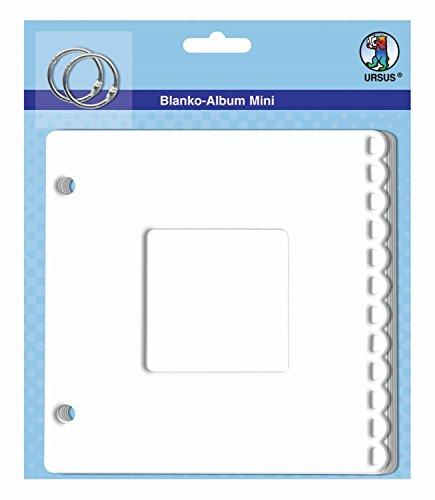 Ursus 15020002 - Blanko Album Mini Passepartout, ca. 15,3 x 15,3 cm