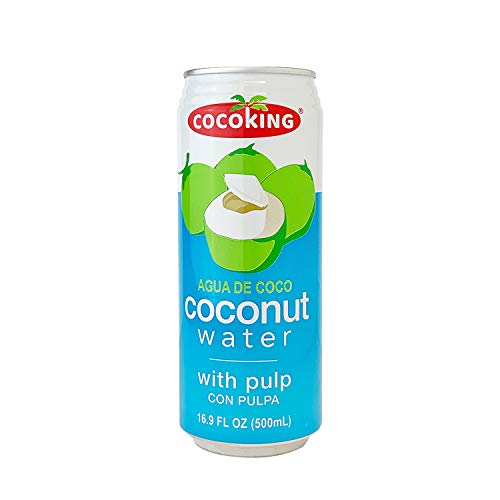 Cocoking Coconut Water, 16.9-Ounce (Pack of 24)