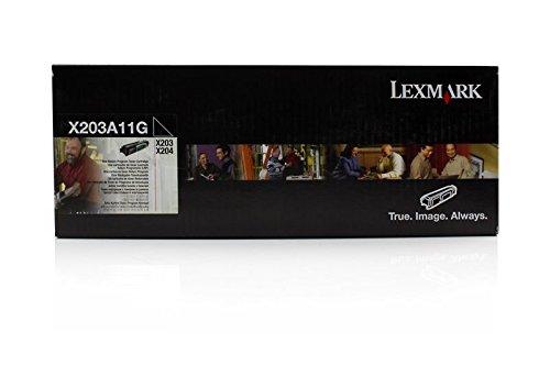 Lexmark X203A11G toner nero per X 203 N/204 N