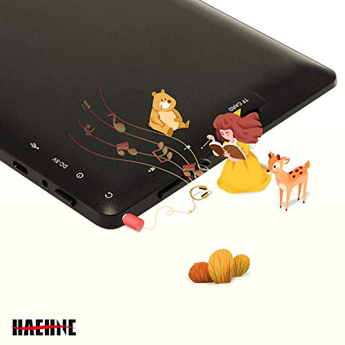 Haehne 7 Zoll Tablet PC, Google Android 4.4, Quad Core A33 8GB ROM, Zwei Kameras, Bluetooth, WiFi, Rosa