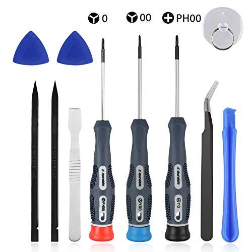 EEEKit Triwing-Schraubendreher und Schraubendreher-Satz Professionelles Repair Tool-Kit für Nintendo-Schalter, Neue 3DS-Nintendo-Wii/Wii-U usw