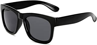 Black sun glasses Retro Reflective Sunglasses Eyewear Clear Frame