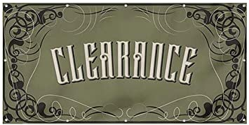 Clearance Victorian Gothic Heavy-Duty Outdoor Vinyl Banner CGSignLab 8x4