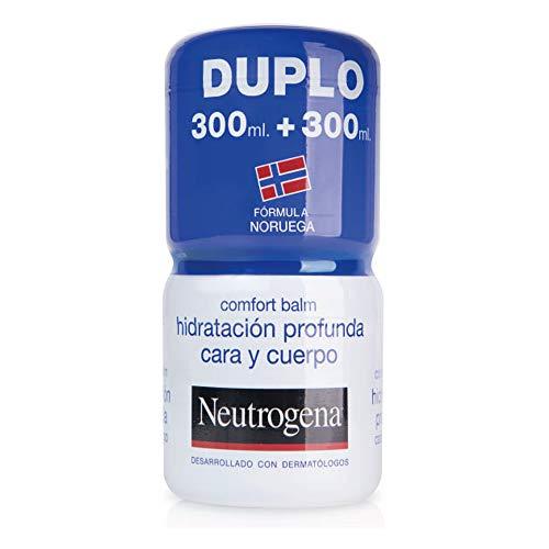Neutrogena Bálsamo Hidratación Profunda Cara y Cuerpo, Piel Seca, 2 tarros de 300ml
